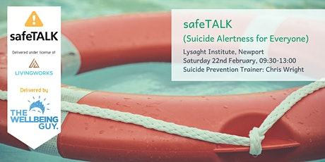 safeTALK: Suicide Alertness for Everyone (Newport) tickets