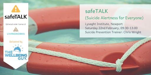 safeTALK: Suicide Alertness for Everyone (Newport)