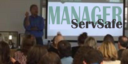 ServSafe Food Manager Certification Training & Exam ($75 plus books)