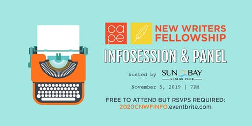 2020 CAPE New Writers Fellowship Infosession & Panel
