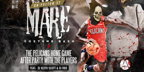NIGHTMARE ON FULTON ST. COSTUME BASH + PELICANS GAME AFTER PARTY WITH THE PLAYERS @ APRES LOUNGE  tickets