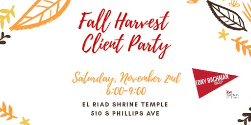 Fall Harvest Client Party