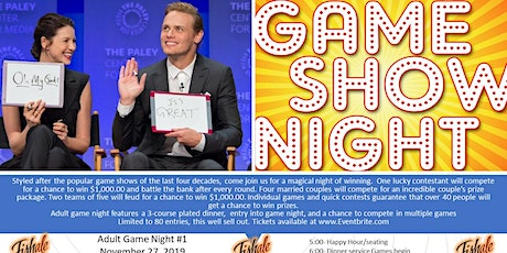 PC GAME SHOW NIGHT #1 tickets