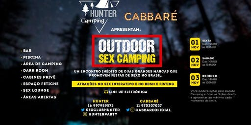 CaBBaré & Hunter - OUTDOOR SEX CAMPING