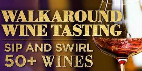 Walk Around Wine Tasting - Sip 50+ Wines 'n Gourmet Goodies - Pompano tickets