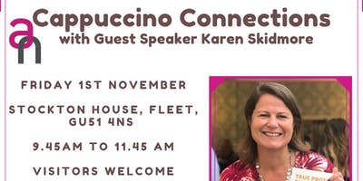 Cappuccino Connections Networking - Blackwater Valley Region with Guest Speaker Karen Skidmore