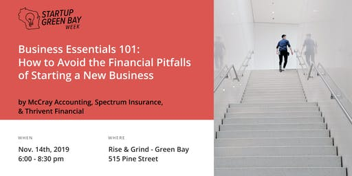Business 101 - Avoid the Financial Pitfalls of Starting a New Business