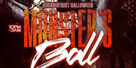 Riich District Halloween: THE MONSTERS BALL @ Karma tickets
