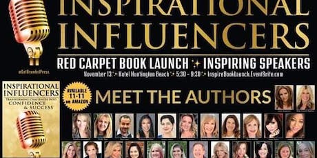 Inspirational Influencers Red Carpet Book Launch tickets