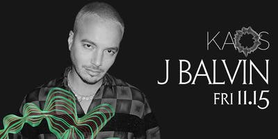 11.15 J Balvin @ KAOS Nightclub Las Vegas
