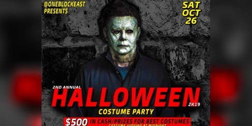 Halloween Costume Party at One Block East