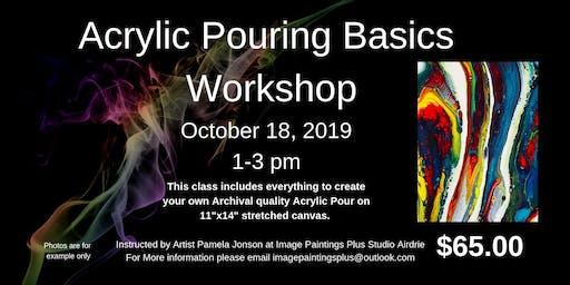 Acrylic Pouring Basics Workshop