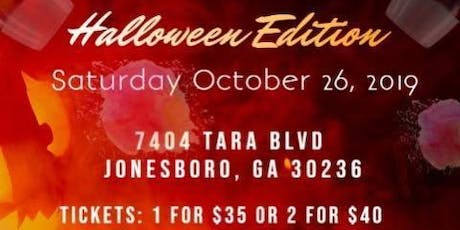 Sip Paint & Puff {halloween & hookah edition} tickets