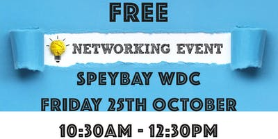 FREE - Speybay WDC Networking Event