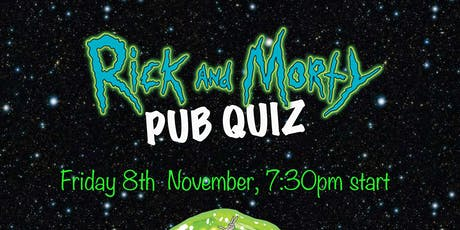 Rick and Morty Pub Quiz tickets