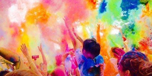 West Glades School Family Fun Color Run