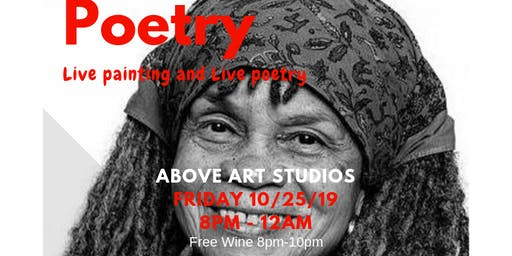 Copy of Painted Poetry (Live Painting and Spoken Word)