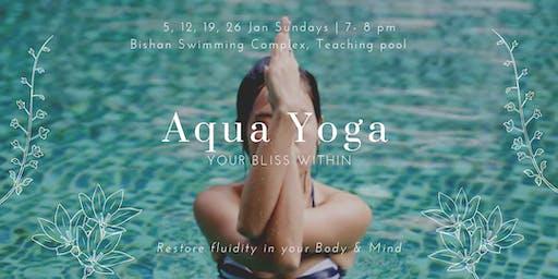 Aqua Yoga for Back pain / Injury (Sunday)