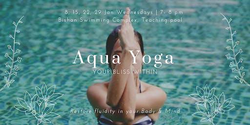 Aqua Yoga for Back Pain / Injury (Wednesday)