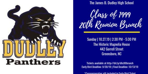 J. B. Dudley High School Class of 1999 - 20th Reunion Brunch