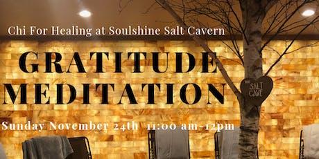 Salt Cave Gratitude Meditation with Crystals, Aromatherapy, & Sound Healing tickets