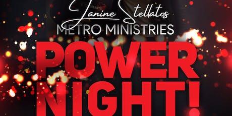 Janine Stellatos Metro Ministries tickets
