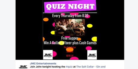 Saltaire Weekly Thursday Quiz  tickets