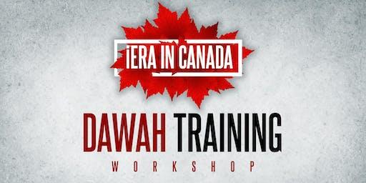 iERA's Foundational Dawah Training Workshop Hamza Tzortzis | Mohammed Hijab