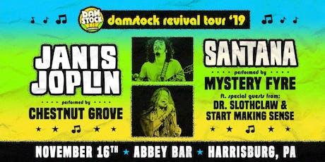 Santana and Janis Joplin Tributes by Mystery Fyre & Chestnut Grove tickets
