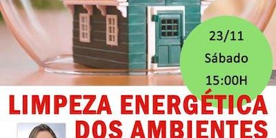 "Palestra: ""Limpeza Energética dos Ambientes."" - Barra da Tijuca"