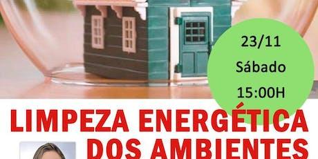 "Palestra: ""Limpeza Energética dos Ambientes."" - Barra da Tijuca ingressos"