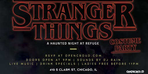 Stranger Things: A Haunted Night At Refuge