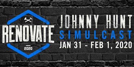 Johnny Hunt Renovate Simulcast tickets