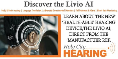 Discover the Livio AI: The health-able hearing device.