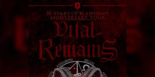 Vital Remains - 30 Year Anniversary Tour