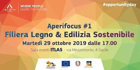 Aperifocus #1 - Filiera Legno & Edilizia Sostenibile biglietti