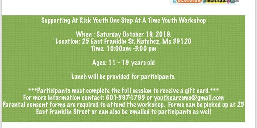 Youthcares Youth Workshop: Supporting at risk youth one step at a time!