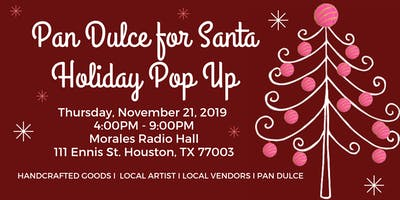 Pan Dulce for Santa Holiday Pop Up