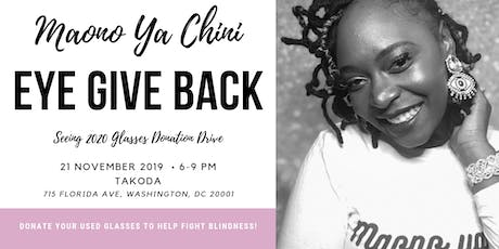 EYE Give Back Happy Hour tickets