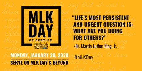 MCAC DST MLK DAY OF SERVICE tickets