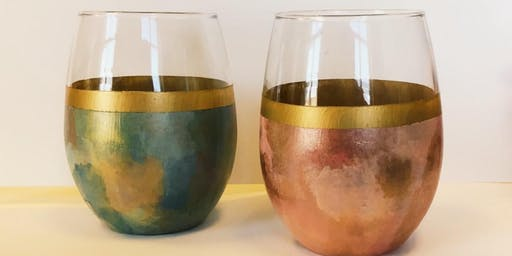 Wine Glass Painting w/Adrienne Clement (Perkins/Highland)