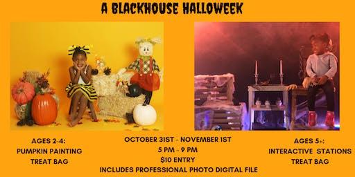 Flick-or-Treat Haunted House Halloween