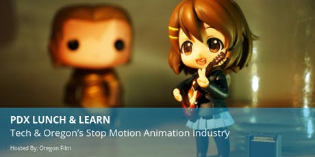PDX Lunch & Learn: Tech & Oregon's Stop Motion Animation Industry tickets