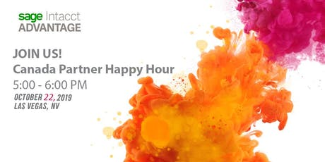 Sage Intacct Canada Partner Happy Hour tickets