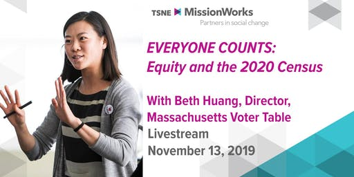 Livestream: Everyone Counts — Equity and the 2020 Census