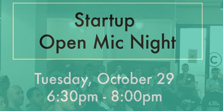 Tech Beach - Startup Open Mic Night - Vol. 2 tickets