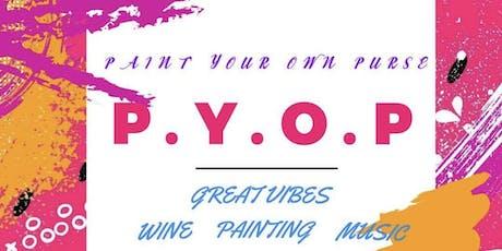 Paint Your Purse Workshop . . . tickets