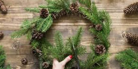 Christmas Wreath Making Class tickets