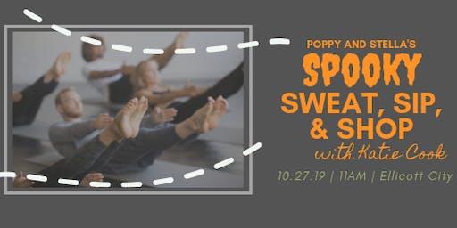 Spooky Sweat, Sip, & Shop