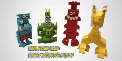 After School LEGO Brick Club: Wacky Monster Builds